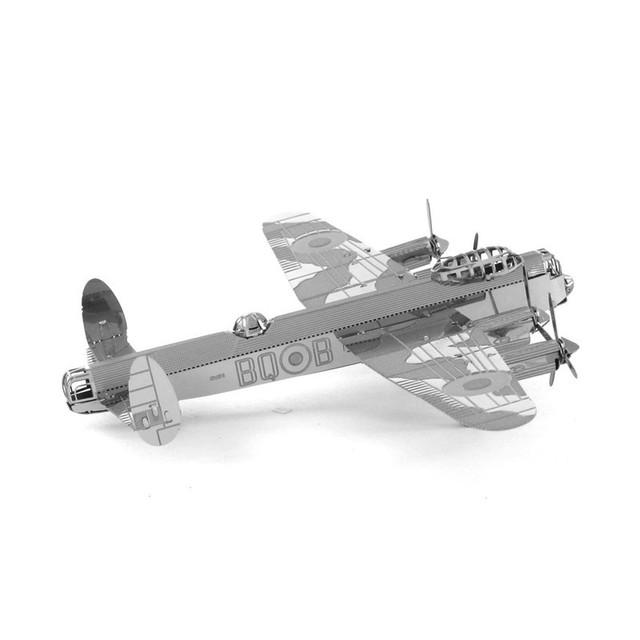 4 WW2 pçs/set Metal 3D Puzzle montagem DIY brinquedo modelo de aeronave militar lutador 6 terno Falcon presente