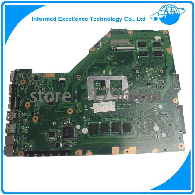 Placa madre del ordenador portátil para asus x55vd x55c x55vd x55cr instegrated placa madre del ordenador portátil no