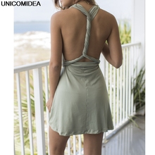 2019 Multiway Summer Dress Sexy Women Convertible Dresses Infinity Wrap Robe Femme Bandage Beach Club Party Dresses Vestidos