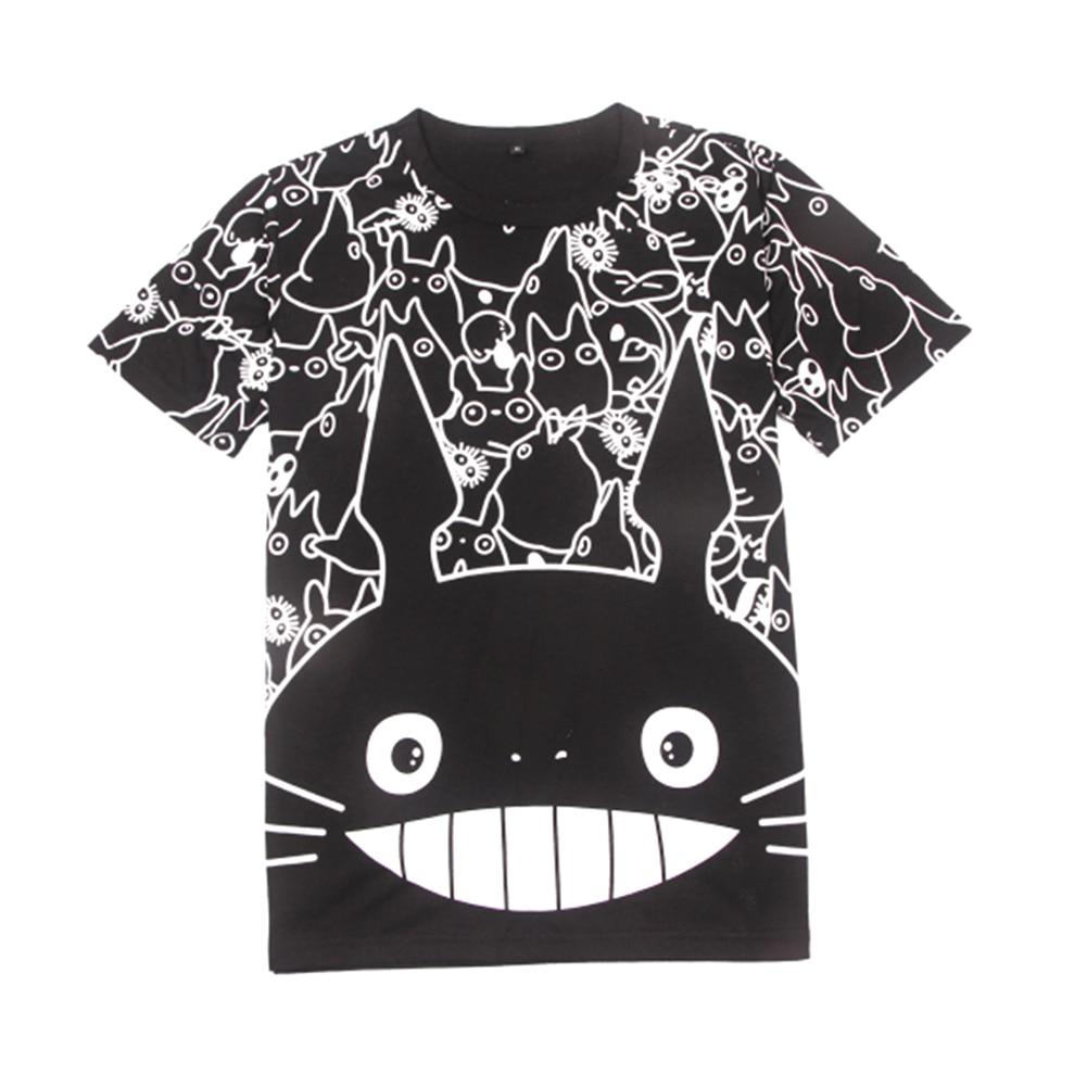 Brdwn New My Neighbor Totoro Unisex Totoro Cosplay T-shirt Casual  Short Sleeve Tees Tops