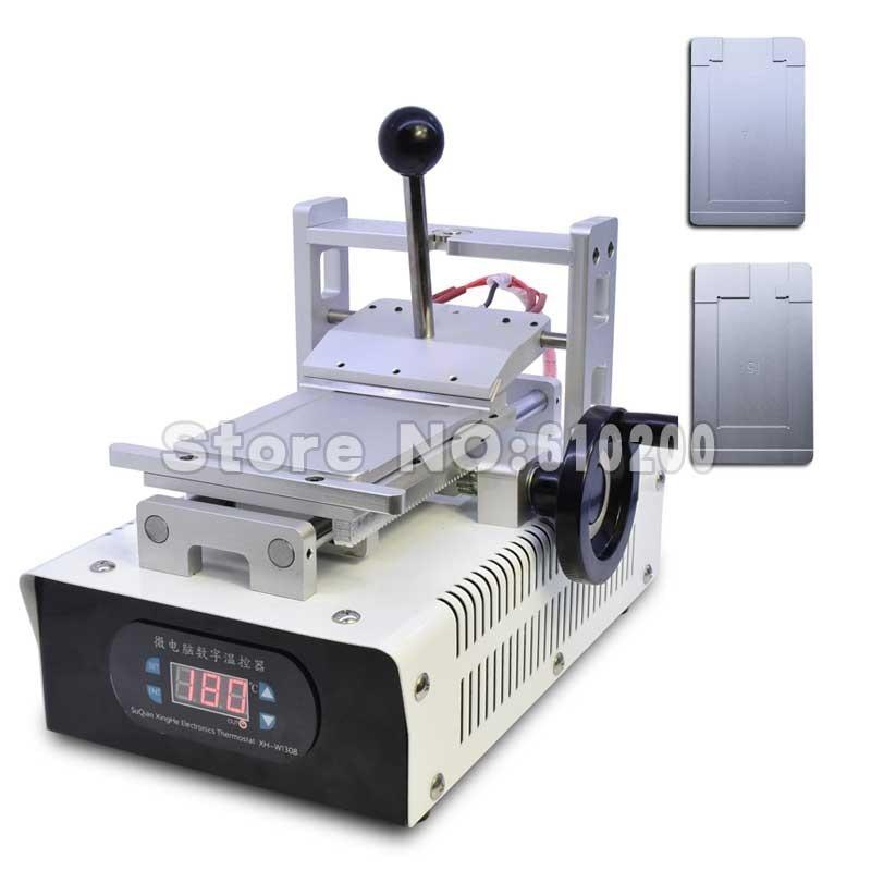 цена на LOCA OCA UV Glue Adhesive Remove Machine LCD Touch Screen Degumming Machine + iPhone 4/4S 5/5S 6/6Plus Molds