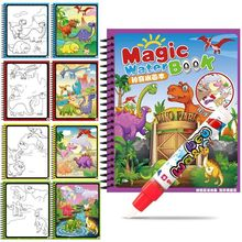 Painting-Toys Drawing-Book Magic-Pen Animal Kids Dinosaur Insect