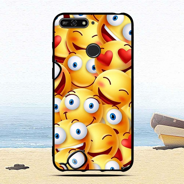 Soft TPU Silicone case for Huawei Honor 7A/Honor 7A Pro/Y6 2018/Y6 Prime 2018/Enjoy 8e cover Animal Cute Cartoon Cases Fundas
