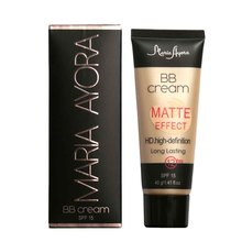 MARIA AYORA Professional Ladies Make Up Sun Block Matte BB Cream Natural Long Lasting Face Concealer Makeup Base BB Cream