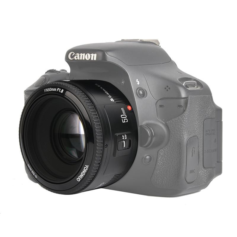 In Stock YONGNUO YN50mm f1 8 YN EF 50mm f 1 8 AF Lens YN50 Aperture