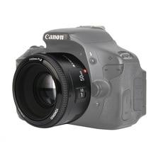 在庫あり!永諾YN50mm f1.8 yn ef 50 ミリメートルf/1.8 afレンズキヤノンeosデジタル一眼レフYN50 開口オートフォーカスカメラ