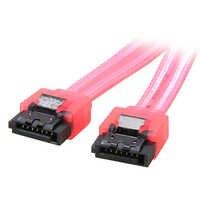 SATA3-cable de datos Serial ATA, 6 pulgadas, 6 Gb/s, con bloqueo de pestillo para PC, portátil, SATA 3,0, SATAIII, 6Gbps, disco duro HDD/SSD, Red UV