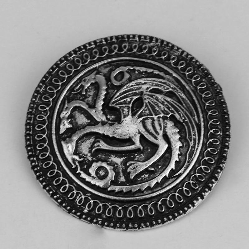 Game Song Of Ice And Fire Game Of Thrones Targaryen Dragon Brooch