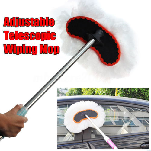 Interior Accessories Beautiful Original Car Vehicle Telescoping Handle Wash Brush Extendable Cleaning Brush Hot Discounts Sale