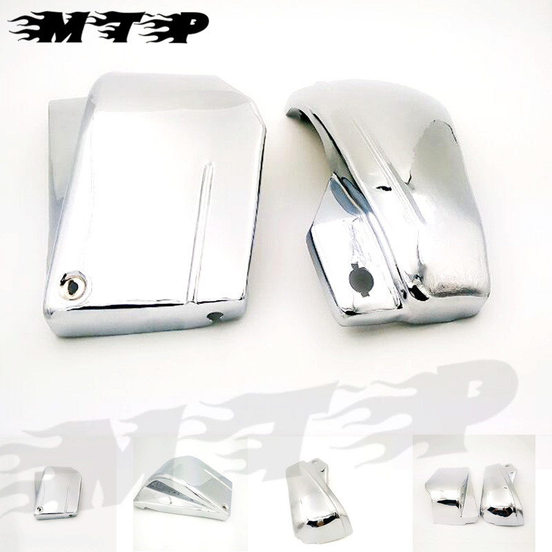 Group 26 Battery >> For Yamaha VStar V Star DragStar 650 XVS650A Chrome Metal Battery Side Fairing Cover Custom ...