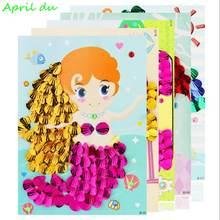Алмазная картина april du shell Детский пазл детская паста набор