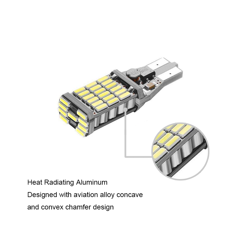 BOAOSI 2x Λευκό σφάλμα Canbus Δωρεάν T15 W16W - Φώτα αυτοκινήτων - Φωτογραφία 3