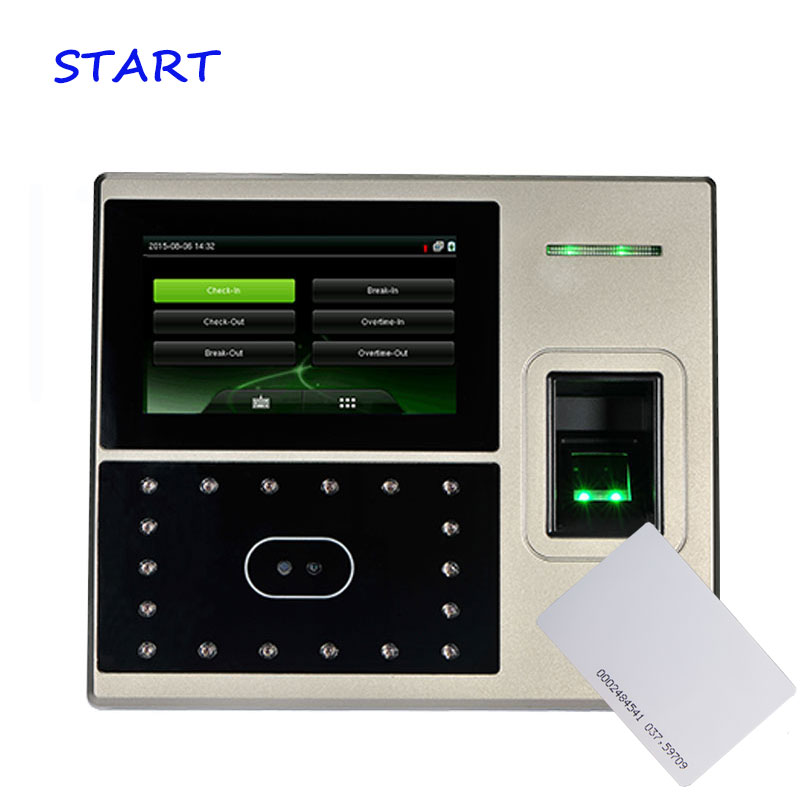 Uface800 Face & Fingerprint Time Attendance And 12.56Mhz/EM Card Access Control System