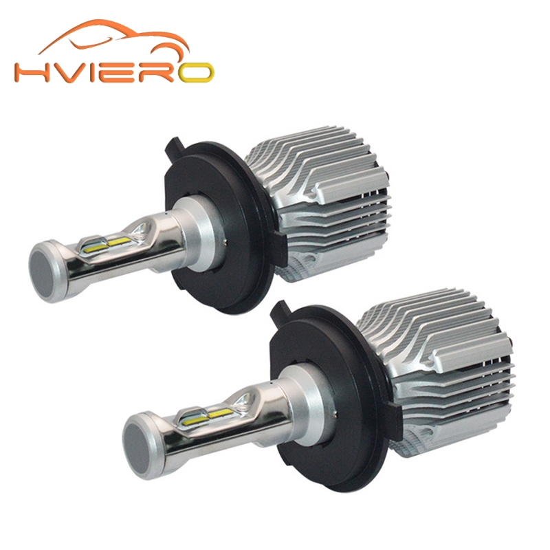 2Pcs H7 LED H4 H8 H9 H11 HB3 HB4 9007 H3 H1 COB Headlight Fog Car Led 72W 8000LM High Low Beam Bulb Automobile Lamp 6500K DC 12V h8 12w 6500k 600lm 4 smd 7060 led white fog lamp high low beam dc 12 24v