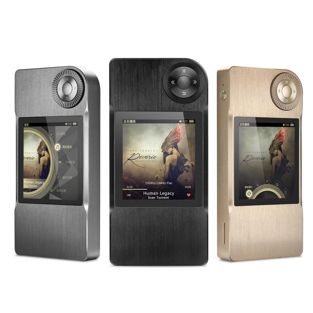 """Prix pour Étui en cuir gratuit + SHANLING M2 DAP Hifi MP3 Musique Lecteur DSD192kHz/32bit 2.35 """"TFT LCD Fonction DAC Sans Perte Lecteur de Musique"""
