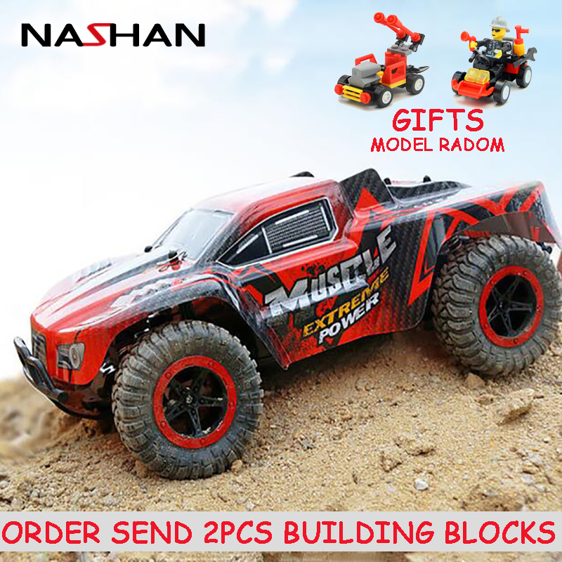 1:16 4WD 2.4GHz Electric RC Car Rock Crawler Remote Control Toy Car Radio Controlled 4x4 Drive Off-Road Toys For Boys Kids Gift
