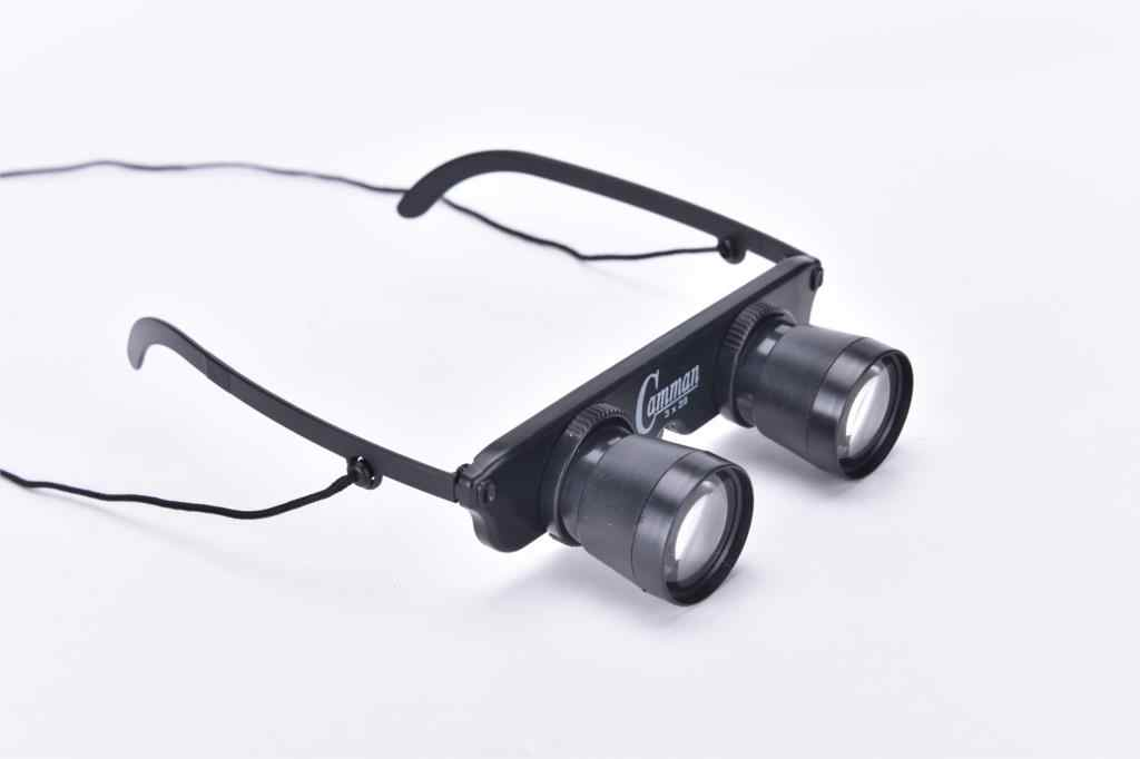 High Quality Magnifier Glasses Style Outdoor Fishing Optics Binoculars Telescope Eye Lens Diameter 10mm 3x28