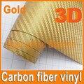 Free Shipping 1.52*30m 3D Carbon Fiber Vinyl Hight Quality Car Sticker Car Wrapping Foil Carbon Fiber Car Decoration Sticker