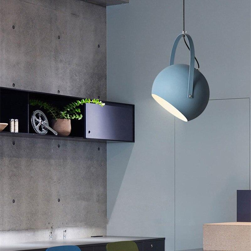Işıklar ve Aydınlatma'ten Kolye ışıkları'de Bar Kolye Işık Otel Modern Işıkları Mutfak Ada Lamba Yatak Odası sarkıt aydınlatma Çalışma Ofis Tavan lamba ampulü Dahil