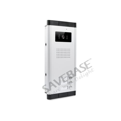 HOMSECUR 7 Wired Video Door Phone Intercom Kit with Dual-way Intercom for 3 Apartment