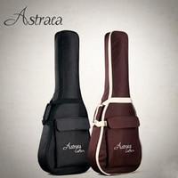 Astraca Deluxe Brown Black 40 41 Acoustic Guitar Bag 600D Nylon Oxford Guitar Soft Case Gig