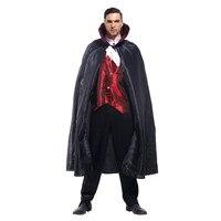 fantasia Men Vampire count Cosplay Halloween Costumes Aristocratic dress masked ball Carnival Masquerade Nightclub dance suit