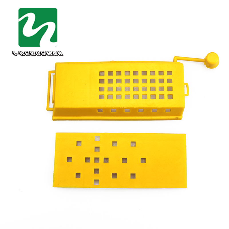 20pcs Beekeeping King Queen Bee Cage Transport Box Bee Prisoners Bedroom European Style Hive Beekeeping Equipment