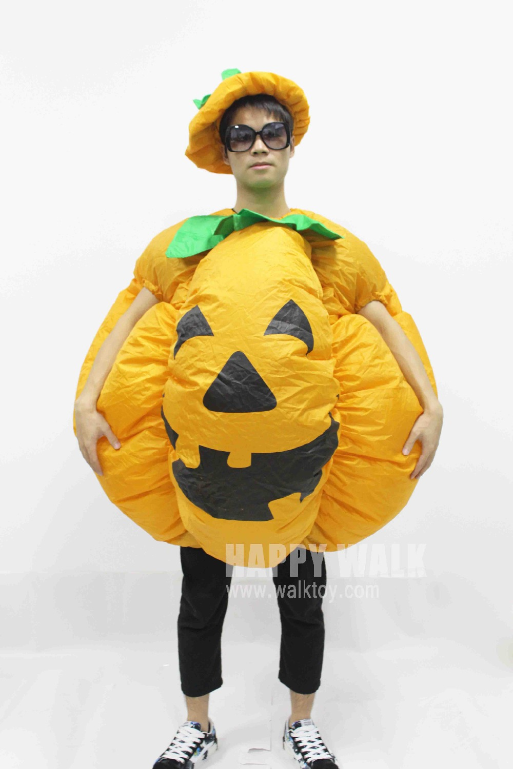 Halloween Pumpkin Cosplay Inflatable Costumes For Adult In Halloween Party Costume To Dress For Man Or Women Halloween Gift