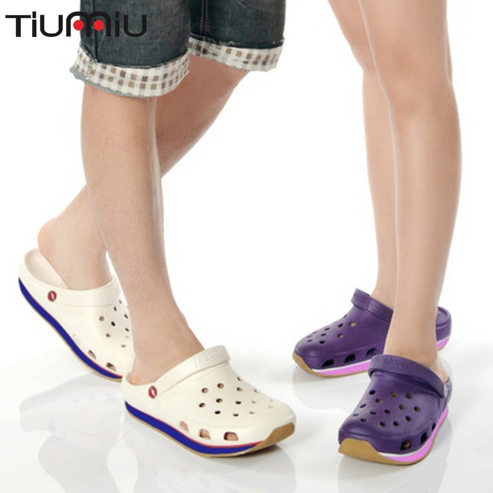 Nurse Doctor Water Proof Thick Bottom Women Men Shoes Non-slip Sandals Slipper Scrubs Medical Uniforms Medico Jaleco Feminino