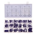 270 Pcs 18 Sizes Kit Air Conditioning Car Auto Vehicle HNBR O Rings Repair  Car Repair Rubber Rings Assortment Set ME3L