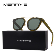 MERRY'S 2017 New Arrival Women/Men Classic Fashion Brand Designer Sunglasses 100% UV Protection S'8105