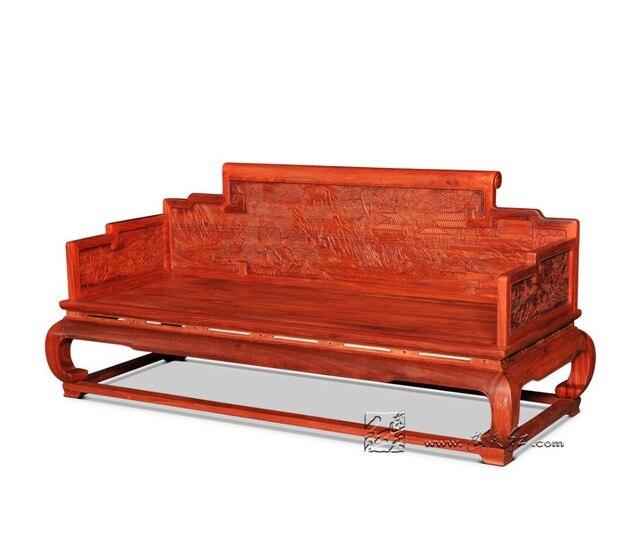 Birmanie palissandre Chaise longue maison salon meubles en bois ...