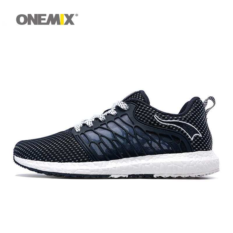 onemix Running Shoes Breathable Mesh for Men Athletic Shoes Super Light Outdoor Women Sport shoes lovers