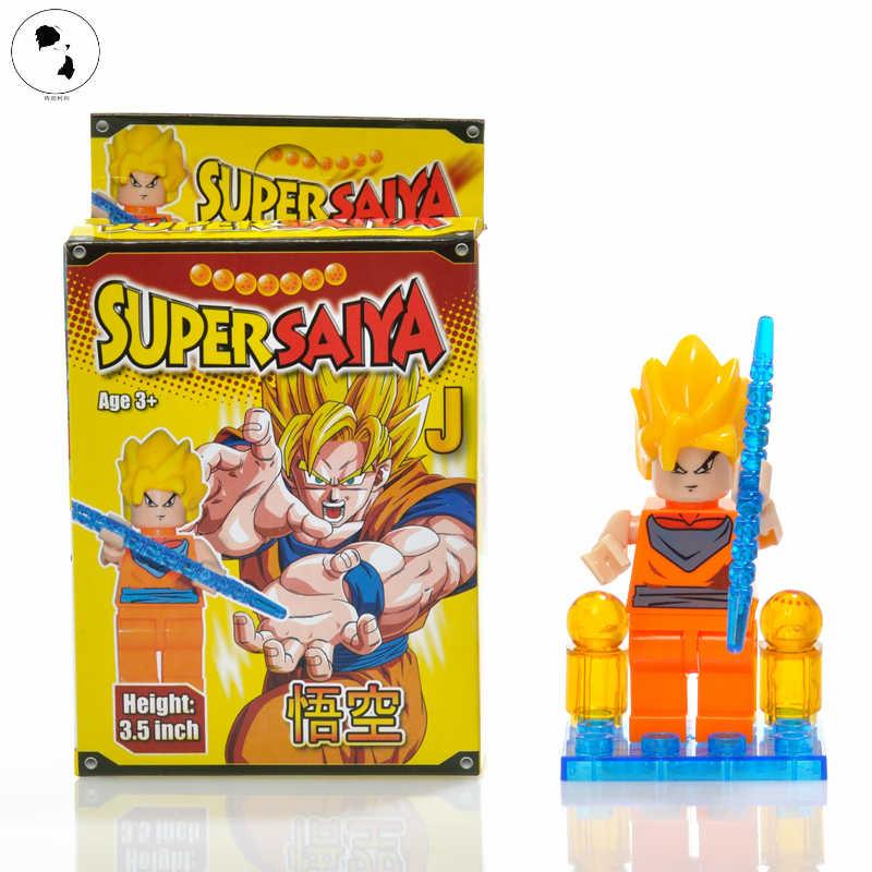 Original 3.5 polegada 9 estilo figuras Dragon Ball Z Brinquedo Kuririn Goku Vegeta Piccolo Celular Buu Action Figure Anime super brinquedos PRESENTES