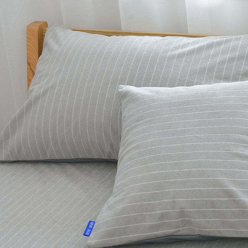 Waterproof Pillow Protectors For Bed Bug Terry Anti-mite Bed Wetting Proof Pillow Covers 2 Pieces 5 Colors Available
