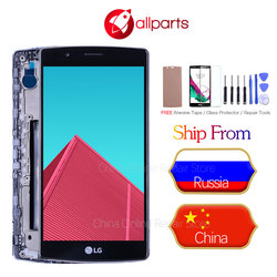 Single SIM ORIGINAL for LG G4 H815 Display LCD Touch Screen with Frame Replacment H810 H811 H815 Screen Display for LG G4 LCD