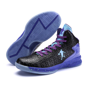 Image 3 - Man High top Basketball Shoes Mens Air Cushion Light Basketball Sneakers Anti skid Breathable Outdoor Sports Basketball Shoes