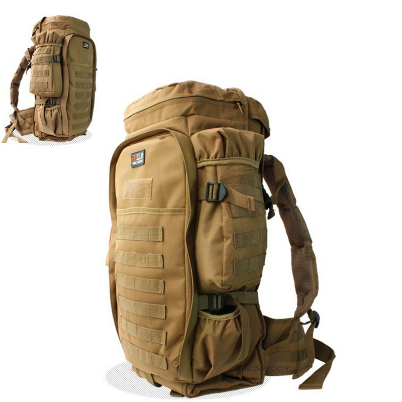 Multi Military Tactical Backpack Solid Nylon wearproof Outdoor Sport Climbing Camping Hiking backpack 60L Molle travel Bags famous brand 40l outdoor sports military molle tactical travel backpack bags for walking and hiking camping backpacks bag