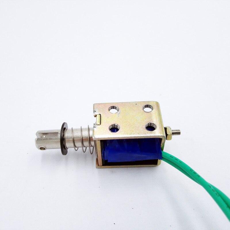 TAU-0520 DC 12V 24V push&pull Type Frame electromagnet travel distance 10mm Keepping Force 400g Solenoid