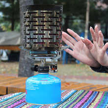 Wind proof outdoor gas Portable Mini Camping Heater Cap camping stove lighter tourist equipment kitchen cylinder grill gh539 gas lava roack grill of catering equipment