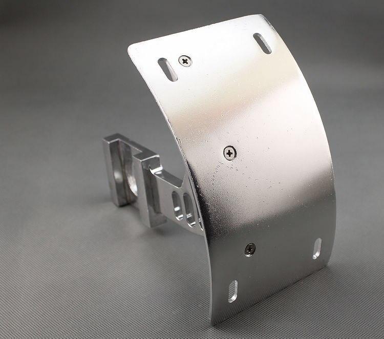 Изогнутые маятник тег средства перемещения пластины Кронштейн для Suzuki системы GSX-R в 750 GSXR750 GSXR 2000 2001 2002 2003 2004 - мотоцикл 2010