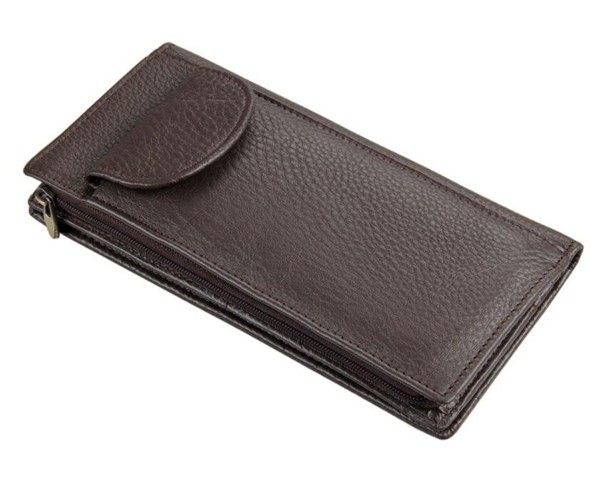 Nieuwe collectie carteira masculina 100% echt lederen portemonnee - Portemonnees en portefeuilles