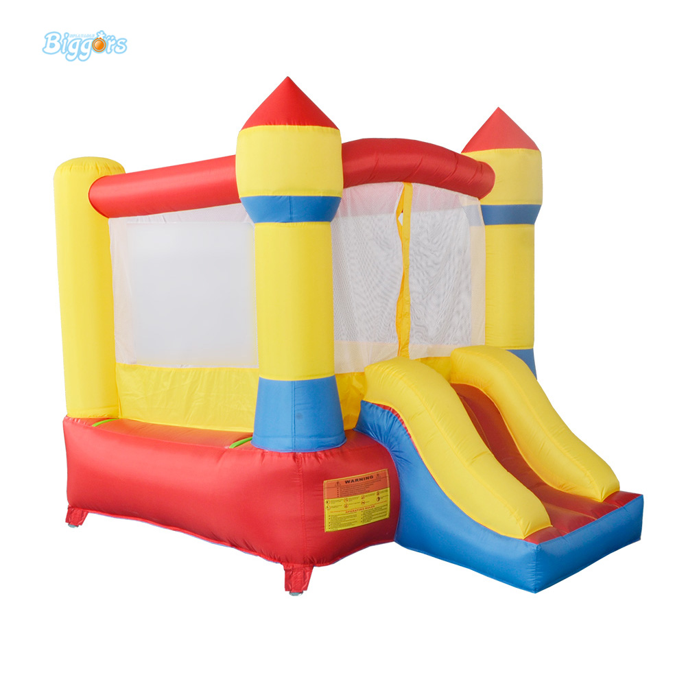 DHL Free Shipping Inflatable Bouncer Bouncy Castle with Blower with Slide Piece for Sale for Kids  цены
