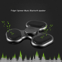 New Supology Anti Stress N Fidget Spinner Bluetooth Speaker Music EDC Toys Hand Spiner Tri Spinners