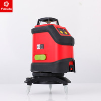 2018 New Fukuda 3D 12Lines 190R Laser Level Self Leveling 360 Horizontal And Vertical Cross Super