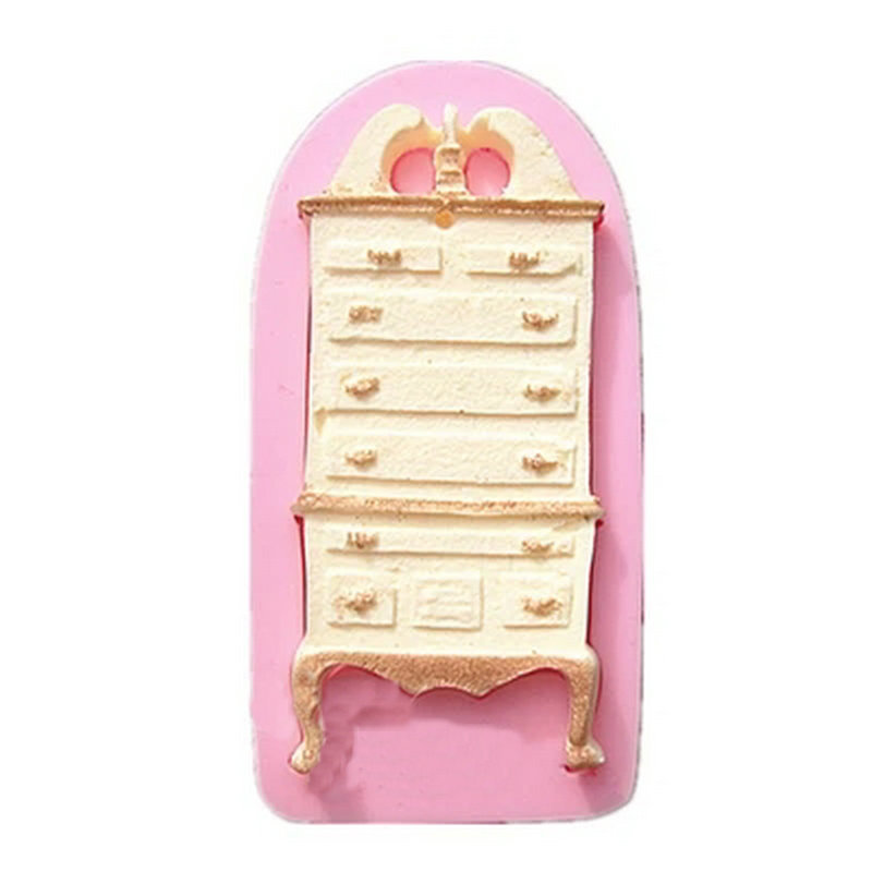 New Arrival Chest Of Drawers Silicone Biscuit Fondant