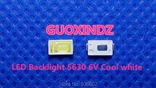 لسامسونج LED LCD الخلفية التلفزيون تطبيق LED الخلفية 0.6 واط 6 فولت 5630 كول الأبيض LED LCD التلفزيون الخلفية تطبيق التلفزيون