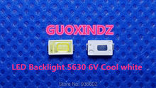 Voor Samsung Led Lcd Backlight Tv Toepassing Led Backlight 0.6W 6V 5630 Koel Wit Led Lcd Tv Backlight tv Toepassing