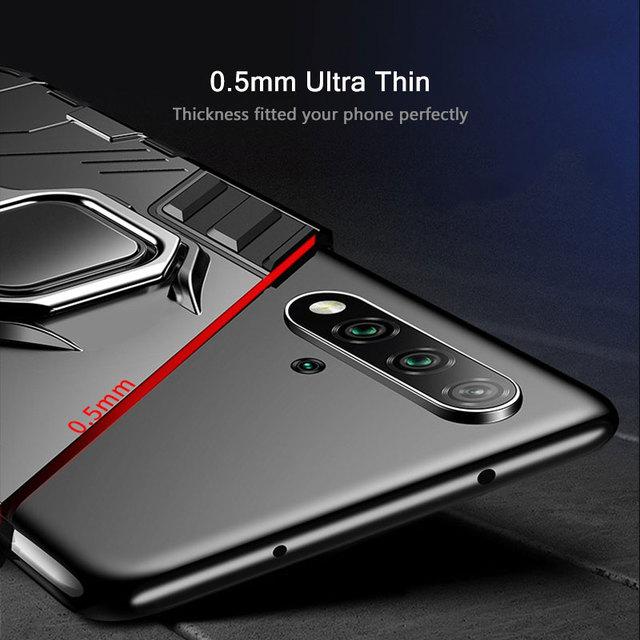 KEYSION Antiurto Armatura di Caso Per Huawei Mate 30 20 Pro P30 P20 lite P Smart Y5 Y6 Y7 Y9 2019 copertura del telefono per Honor 20 Pro 10i 10 lite 8a 8X 9X 5