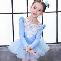 Gymnastics leotard for girls child leotard gymnastic dress kids ballet dresses for girls DD1660 S
